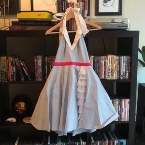 """Minuet """"Alice in Wonderland"""" Halter Dress"""